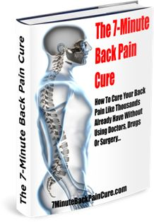 7 Minute Back Pain Cure e-cover