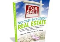 no cash no credit real estate e-cover