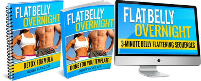 Flat Belly Overnight e-cover