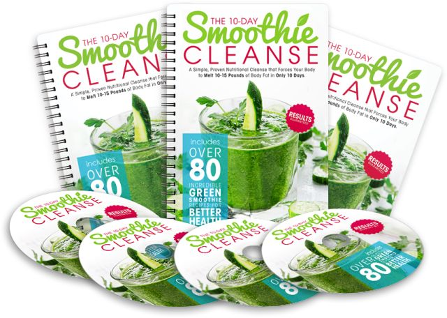 10-Day Smoothie Cleanse e-cover
