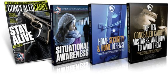 Concealed Carry & Home Defense Crash Course e-cover