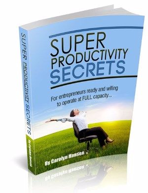Super Productivity Secrets e-cover