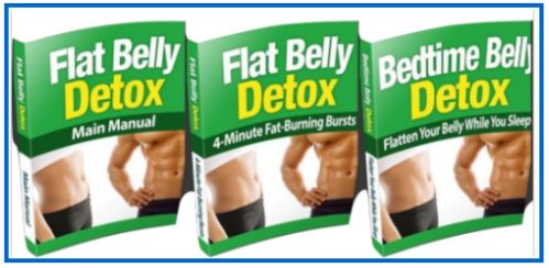 Flat Belly Detox e-cover