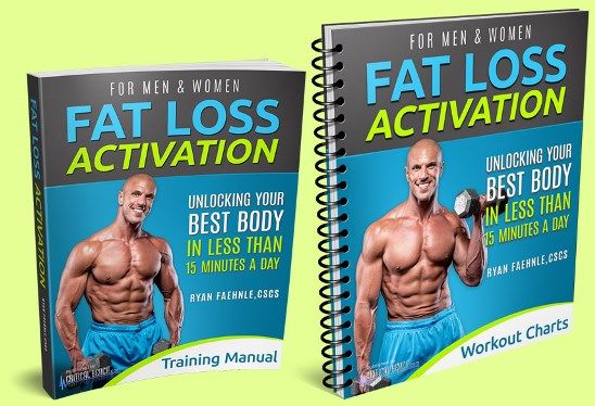 Fat Loss Activation ebook cover