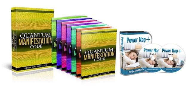 Quantum Manifestation Code e-cover